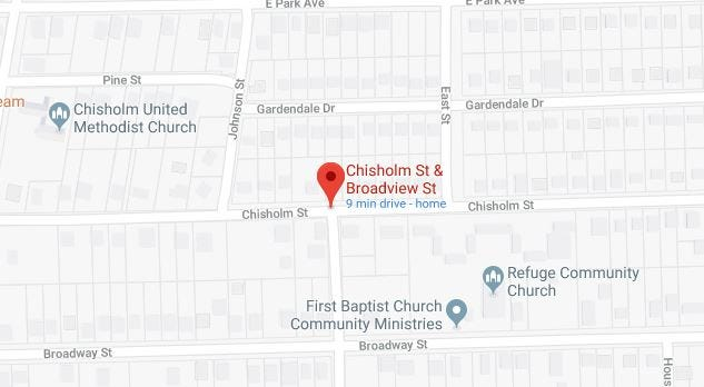 A man suffered a non-life threatening gunshot wound near the intersection of Chisholm and Broadview streets.
