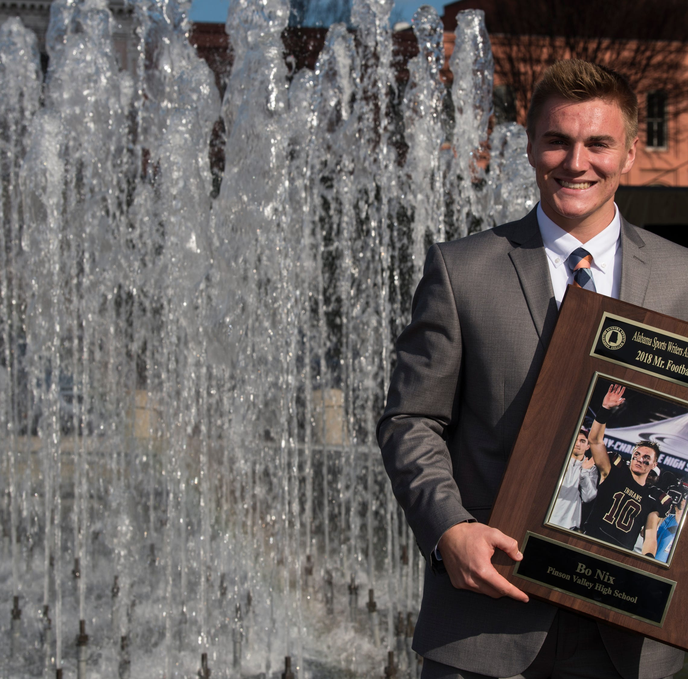 Nix turns Mr. Football trick, lands state's biggest prep football award