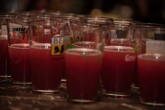 Beer served at DCHS' annual fundraiser.