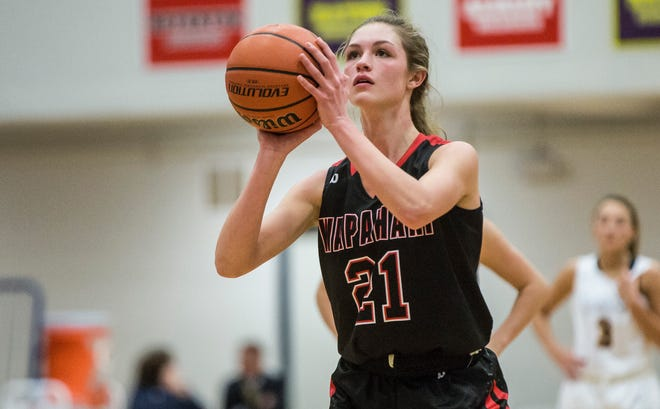 Wapahani's Sydney Cook earned All-MEC honors, one of 13 local players to make the squad.