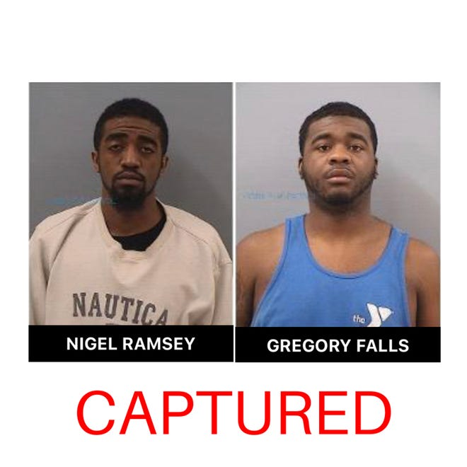 Nigel Ramsey, Gregory Falls
