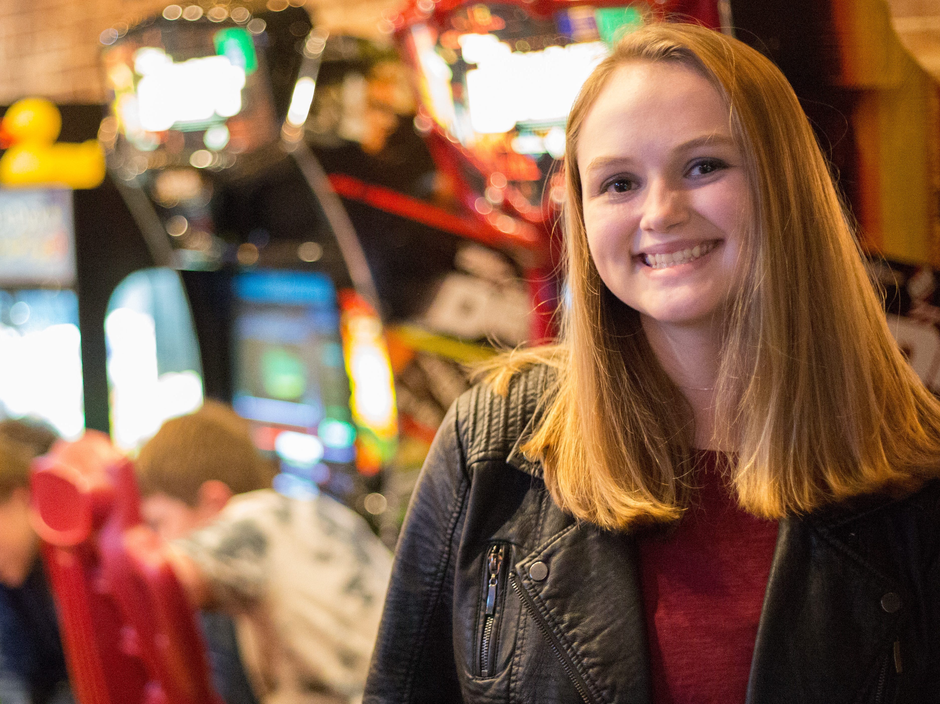 Sydney pauses for a photograph during a Super Smash Brothers Ultimate Tournament presented by Big Dad Games at Filly's Game and Grill in Gallatin on Monday, Jan 14.