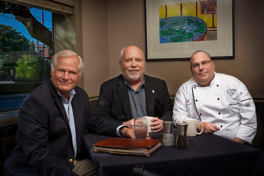 From left, Bob Bedell, Randy Rayburn, and Paul Brennen have formed Music City Hospitality Consulting.