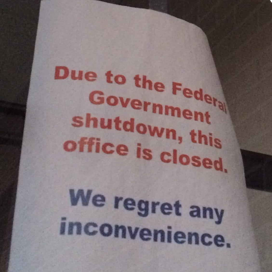 As shutdown continues, government reopening Farm Service Agency offices for 3 days to help farmers with loans, taxes
