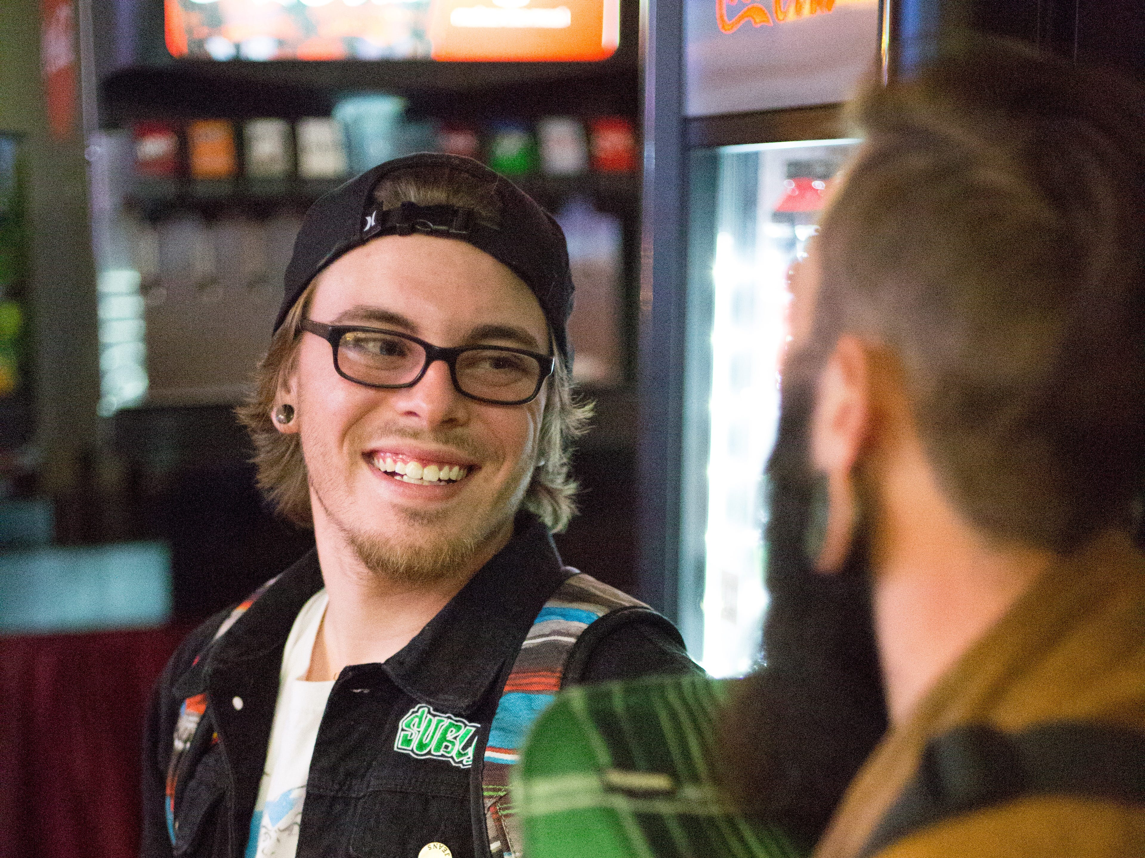 Austin Thornburg enjoys attending the Super Smash Brothers Ultimate Tournament presented by Big Dad Games at Filly's Game and Grill in Gallatin on Monday, Jan 14.