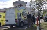 Cape Coral police including a forensic unit and the Lee County Sheriff's Office are on scene Tuesday, Jan. 15, 2019, at Bruno Total Home Performance in Bonita Springs. They have been inspecting vehicles and taking documents out of the offices.