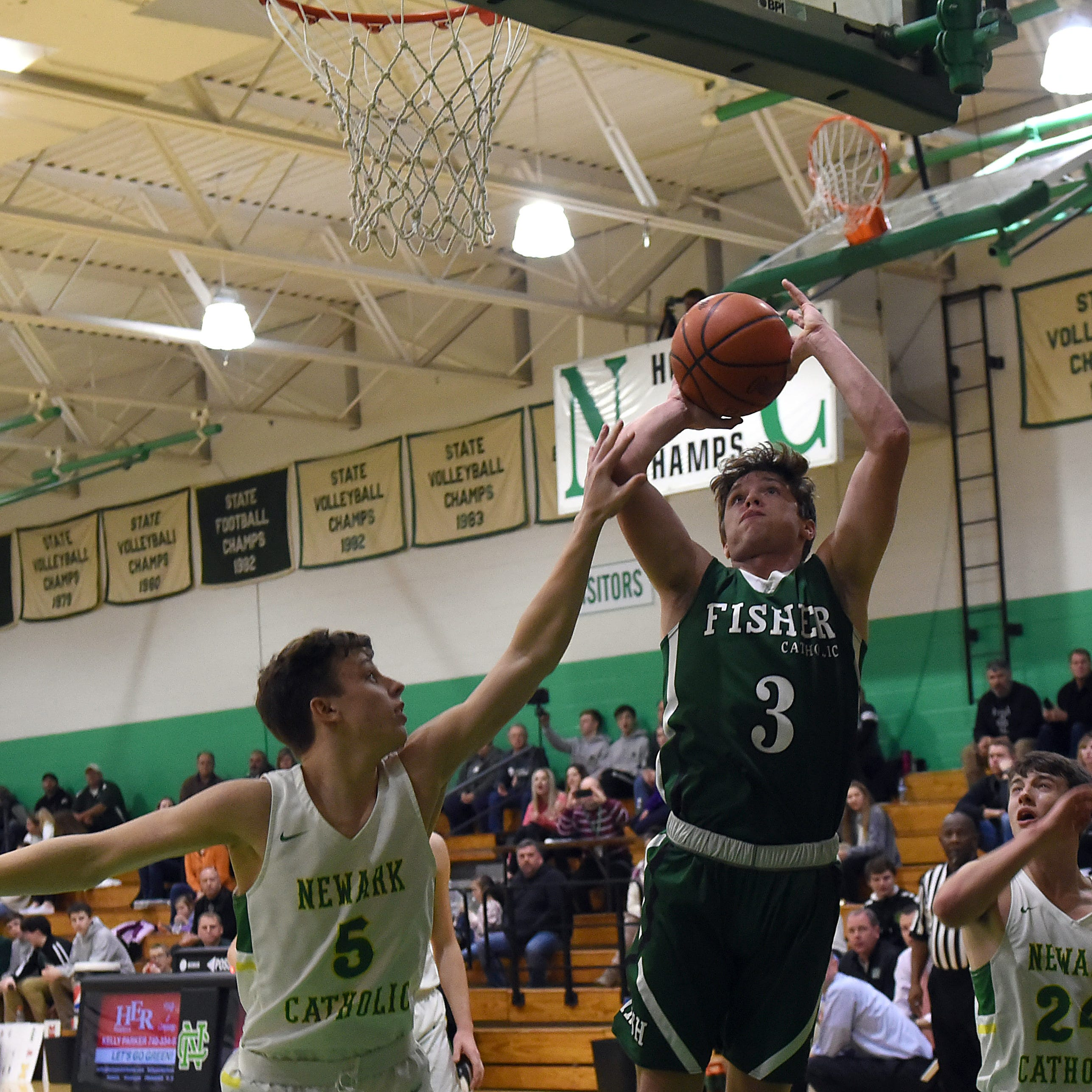 Game-winner gives Fisher Catholic rivalry win at Newark Catholic