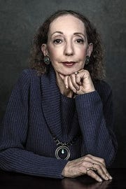 Author Joyce Carol Oates will headline the 2019 Montclair LIterary Festival, hosted by Succeed2gether.