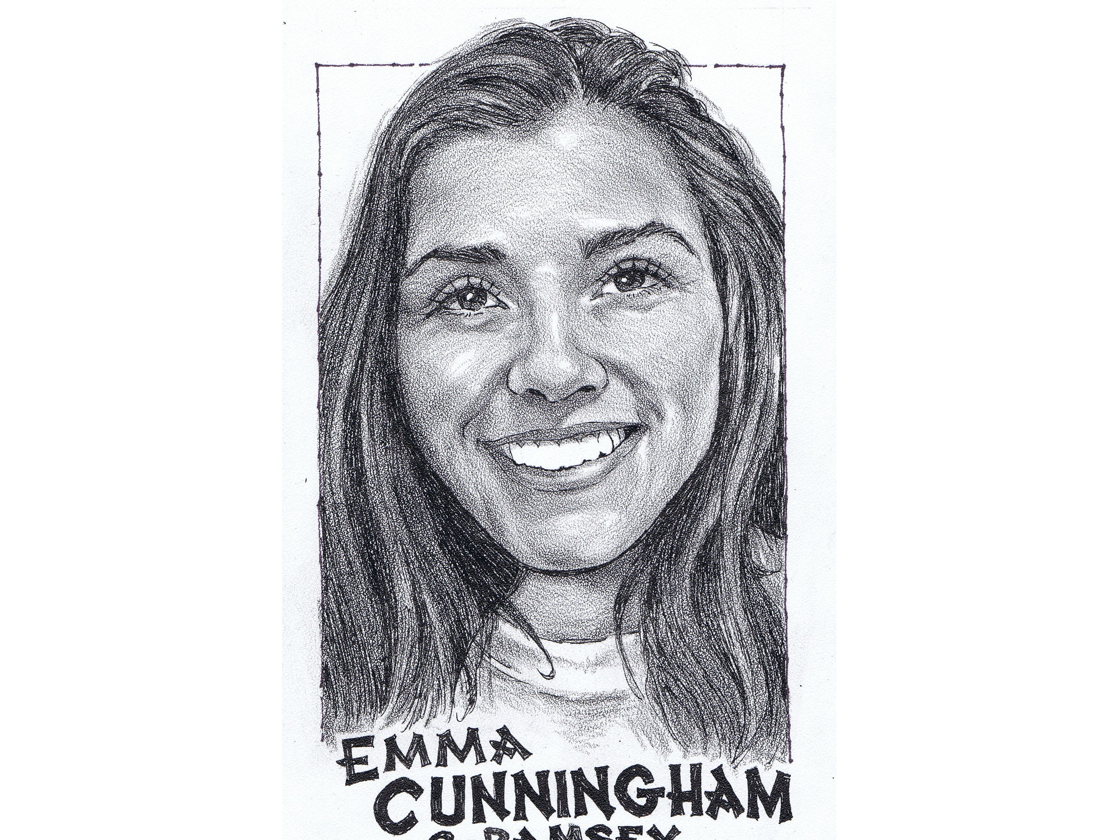 Emma Cunningham, Ramsey track and field