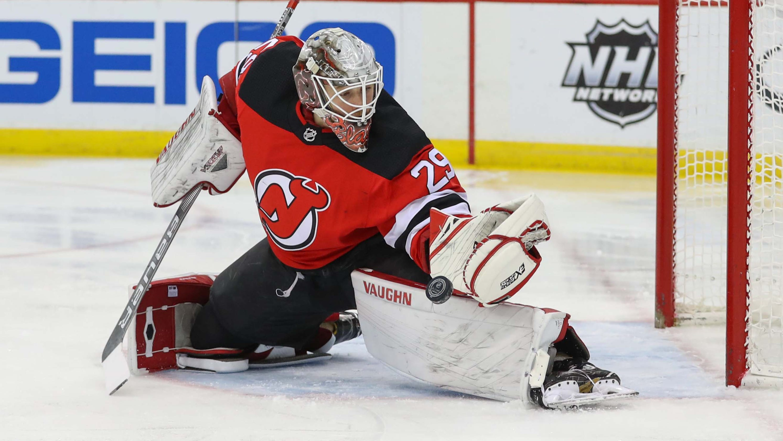 competitive price 77c33 8652d NJ Devils: The biggest challenge facing Mackenzie Blackwood