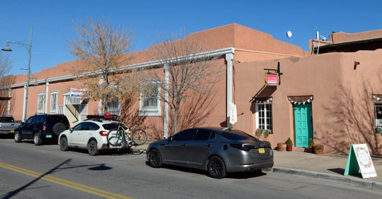 Vehicles parked on Main Street in downtown Las Cruces on Tuesday, Jan. 15, 2019.