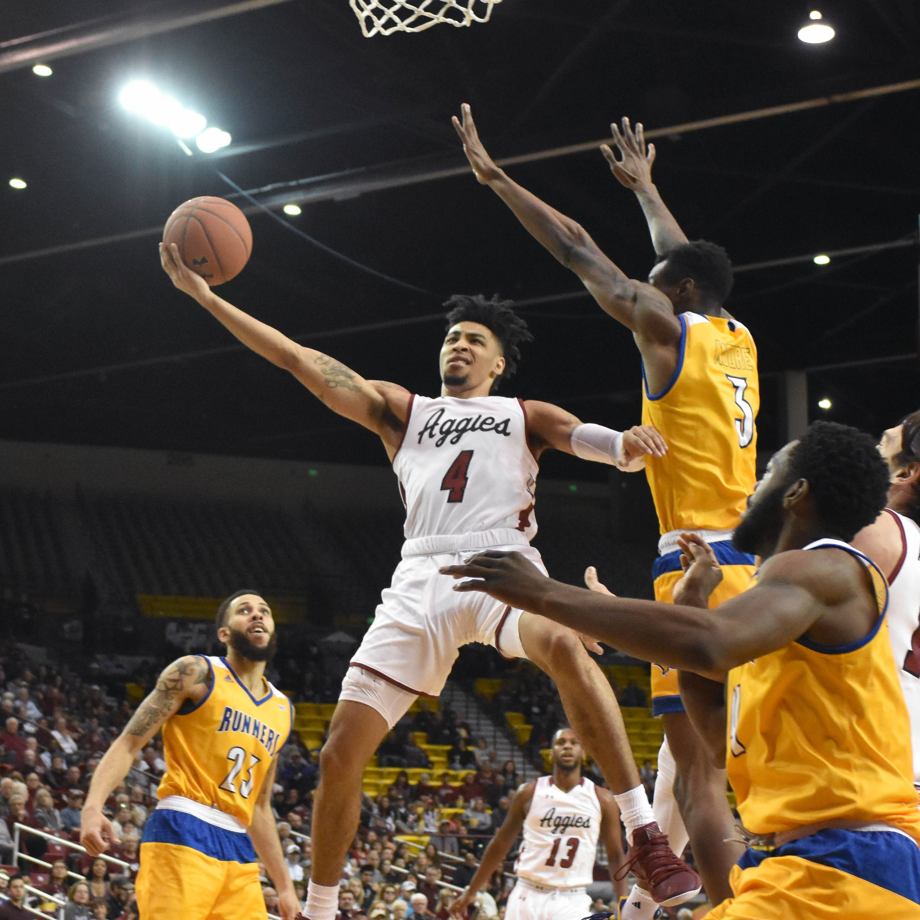 New Mexico State looks to continue momentum on WAC road trip