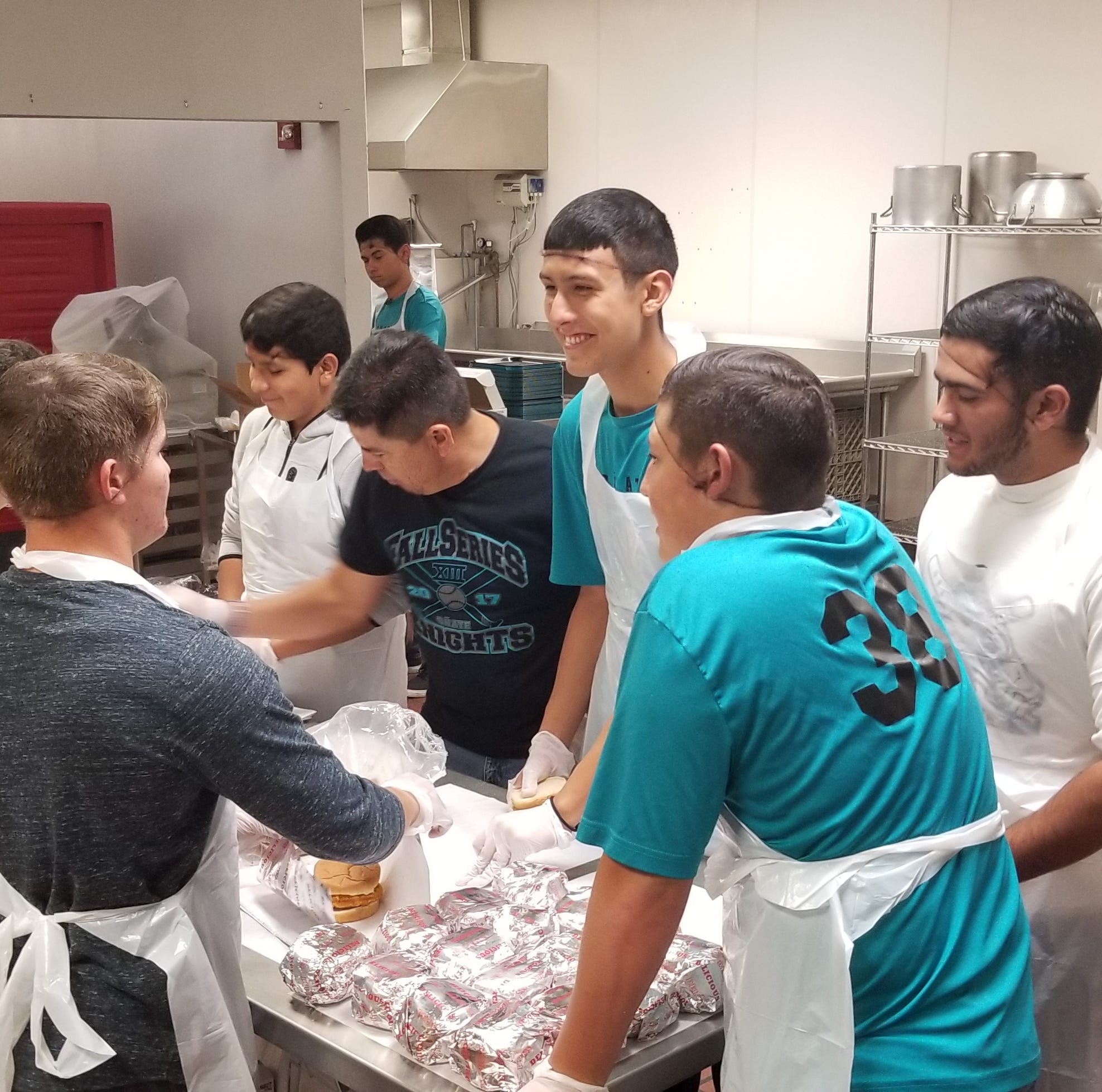 Oñate baseball team participates in Random Acts of Kindness challenge