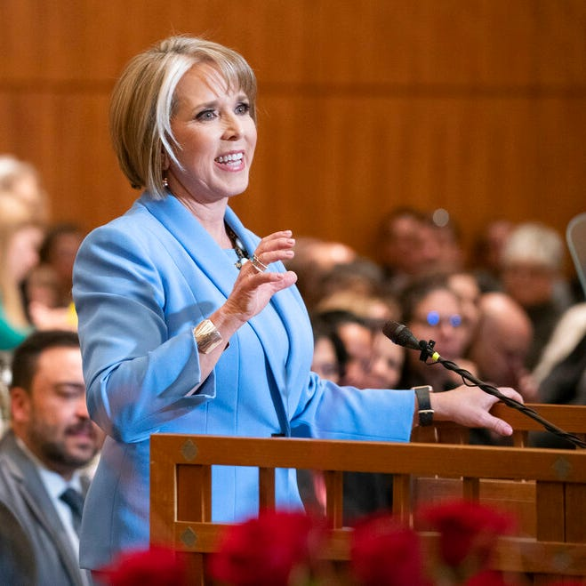 Lujan Grisham outlines priorities: Universal preschool, wage increases, gun control