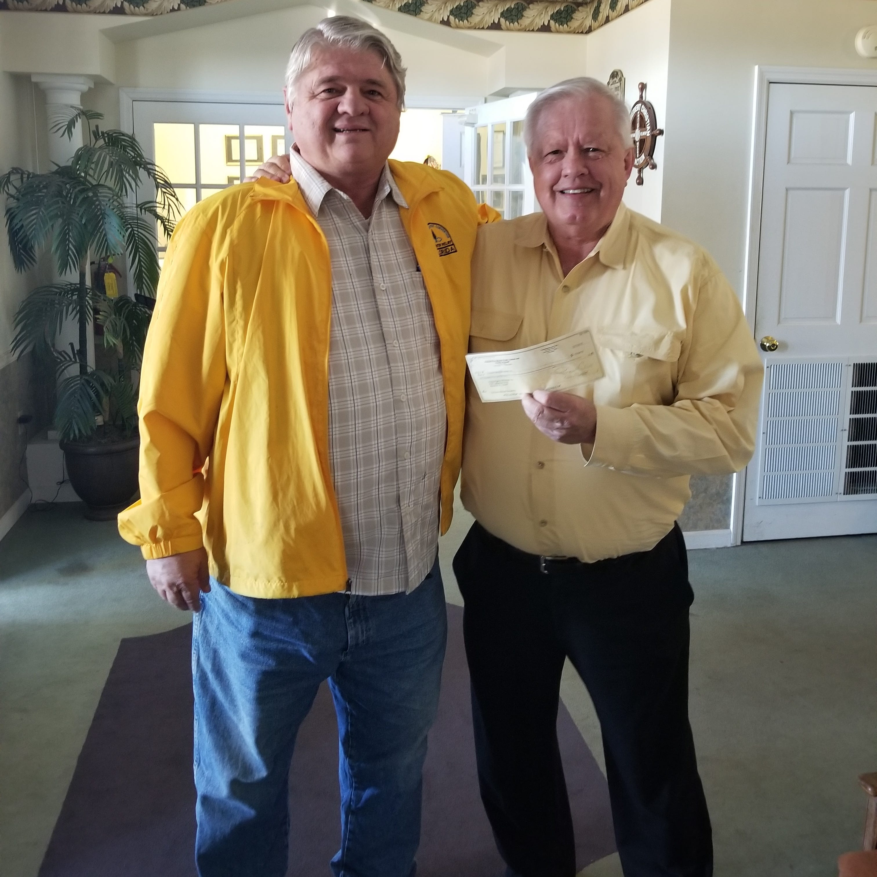 Pensacola Beach Elks Lodge donates to Hurricane Michael relief|Causes