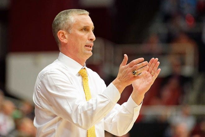 """Arizona State basketball coach Bobby Hurley believes the ceiling for his 2020-21 team is """"limitless."""" The Sun Devils will begin play Nov. 25-26 in a tournament with top five-rated Baylor and Villanova."""