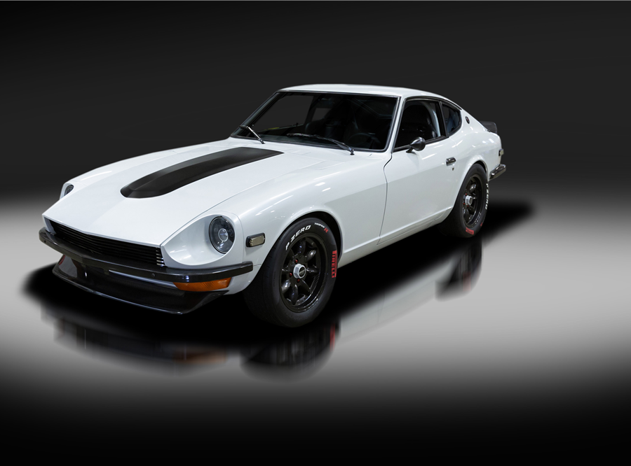 This 1972 Datsun 240Z LS Custom Coupe will be auctioned off at Barrett-Jackson in Scottsdale on Wednesday.