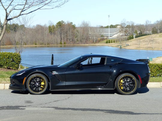 Jeff Gordon is auctioning off a 2016 Corvette C7.R with a supercharged 6.2-liter LT4 V8 engine.