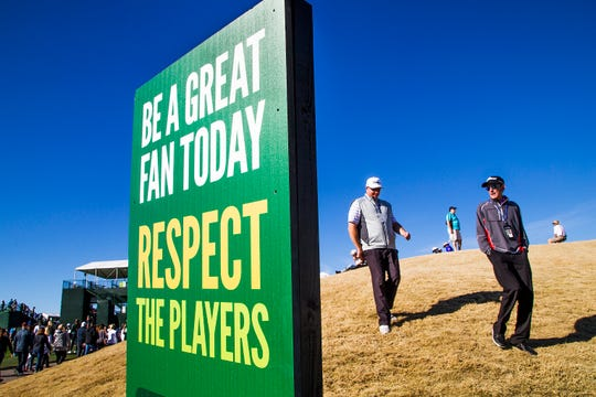 The Waste Management Phoenix Open at TPC Scottsdale.