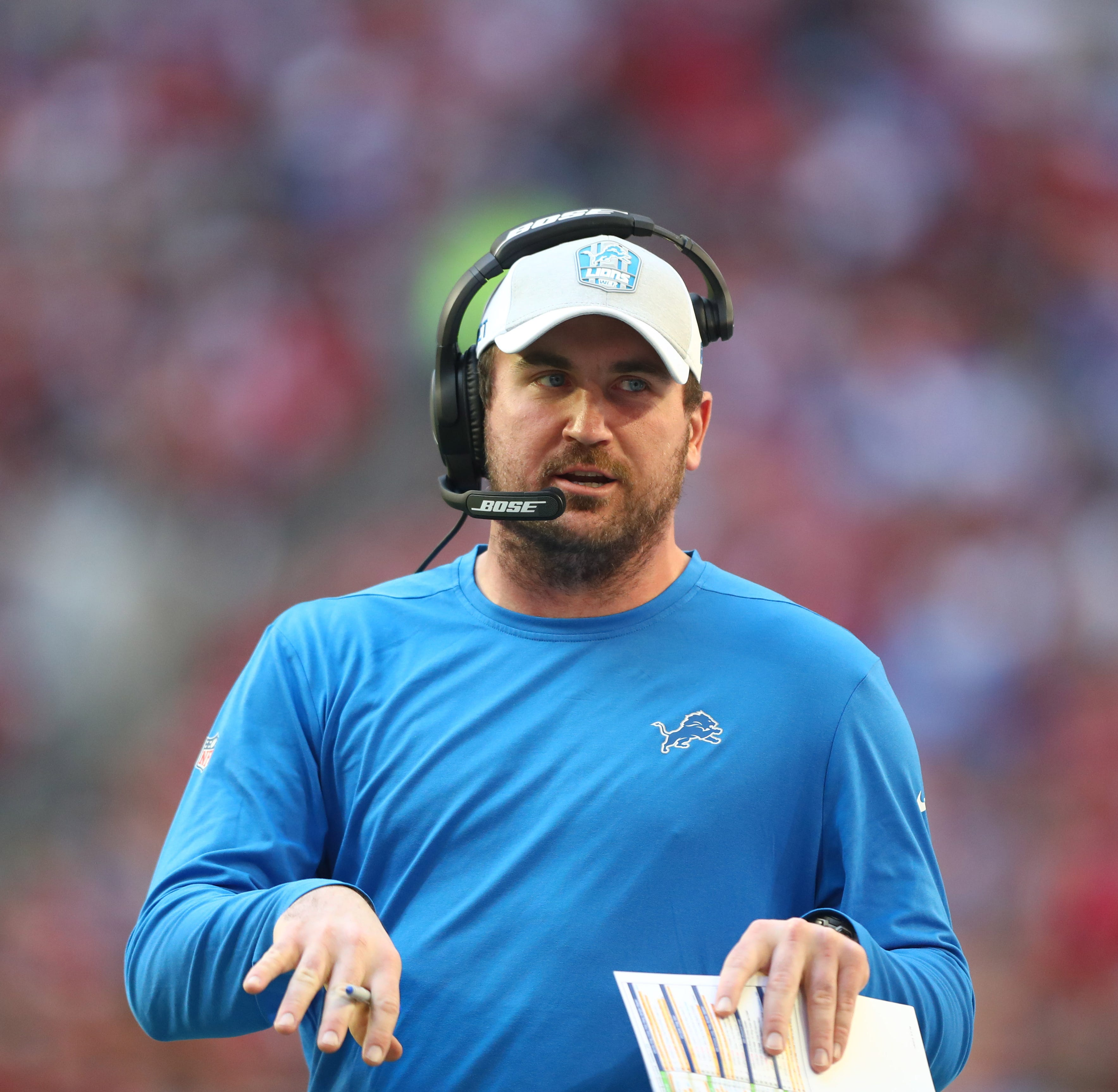 Cardinals to interview former Lions assistant Jim Bob Cooter for offensive coordinator job