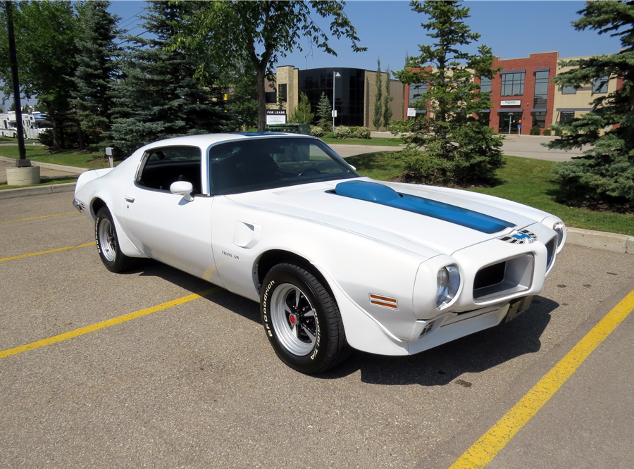 This 1970 Pontiac Firebird Trans Am will be auctioned off at Barrett-Jackson in Scottsdale on Wednesday.