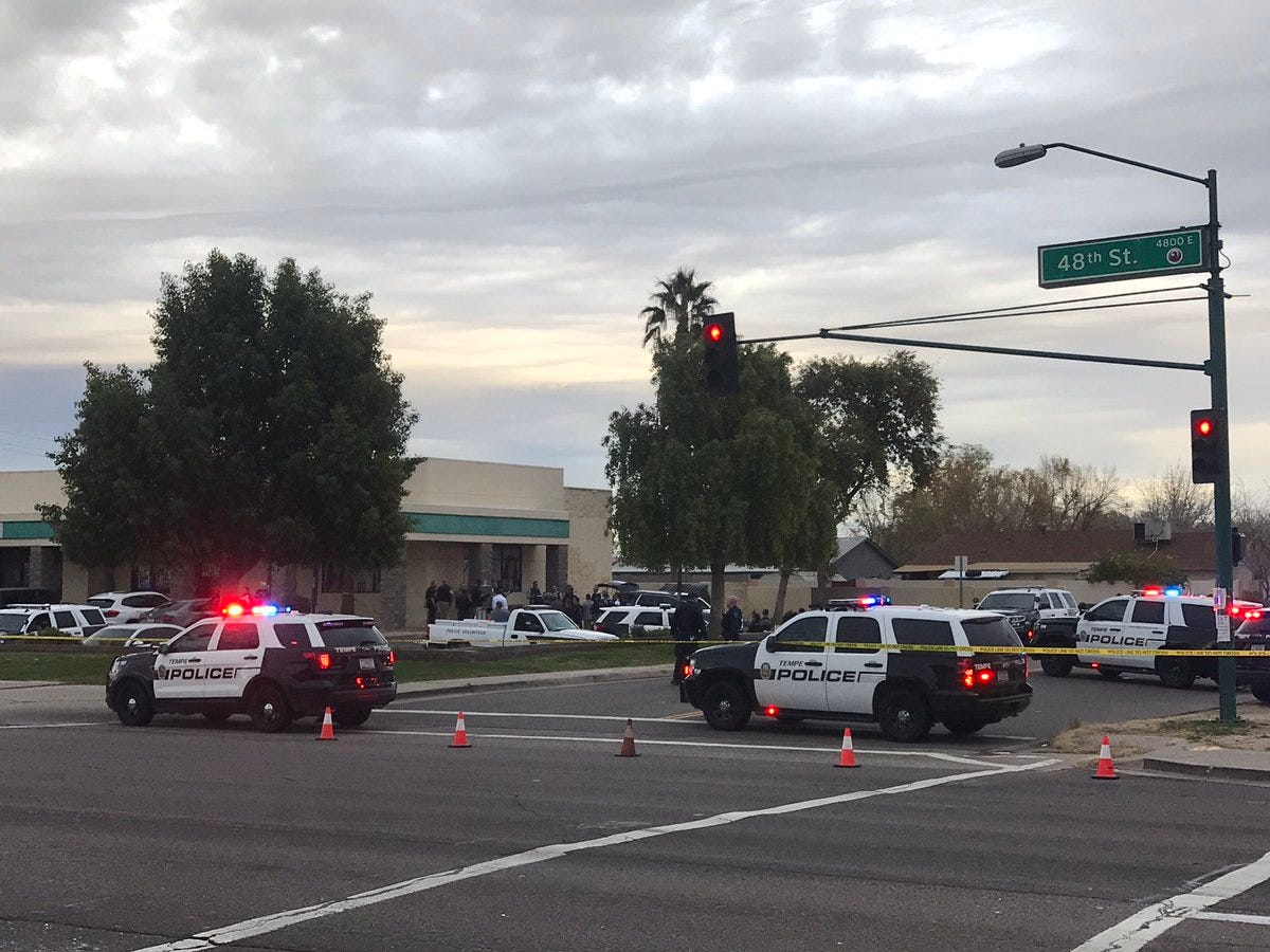 Arizona police shot and killed 14-year-old boy carrying an airsoft gun