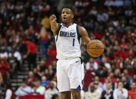 Mavericks guard Dennis Smith Jr. is reportedly on the trading block.