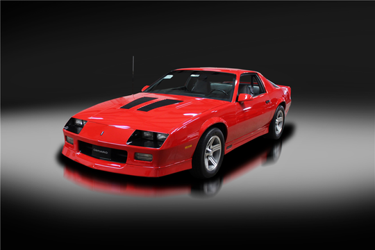This 1990 Chevrolet Camaro IROC-Z 1LE will be auctioned off at Barrett-Jackson in Scottsdale on Wednesday.