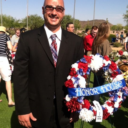 Brian Mancini, a U.S. Army veteran, will soon be memorialized at Veterans Reflection Circle in Surprise.