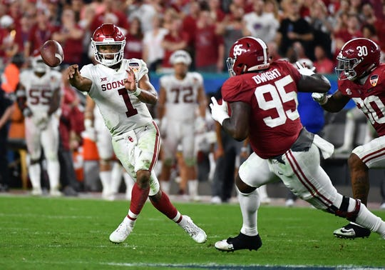 Oklahoma Sooners quarterback Kyler Murray could be taking his talents to the NFL. Which team will draft him? There are. odds for that.