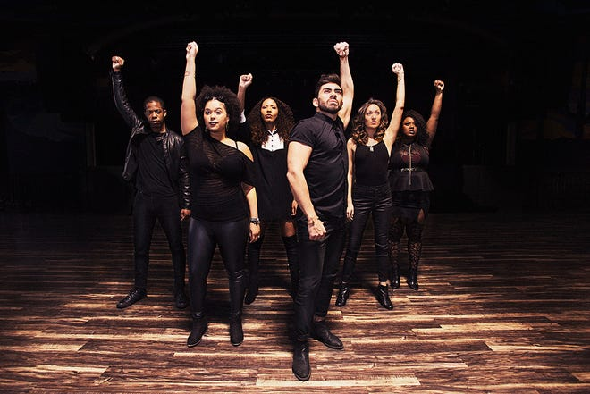 """""""History Has Its Eyes on You: A Hamilton Music Revue"""" will feature former """"Book of Mormon"""" star Alexandra Ncube (front left)."""
