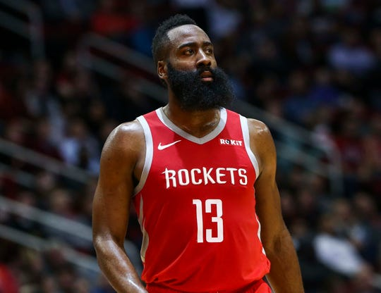 Houston Rockets guard James Harden seems to make history every night.
