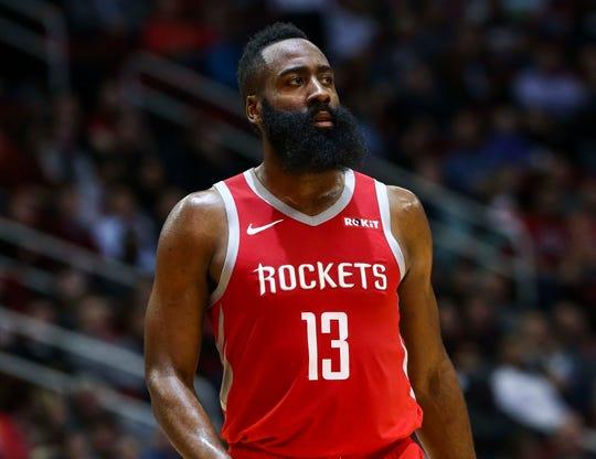 Houston Rockets guard James Harden seems to make history every night.