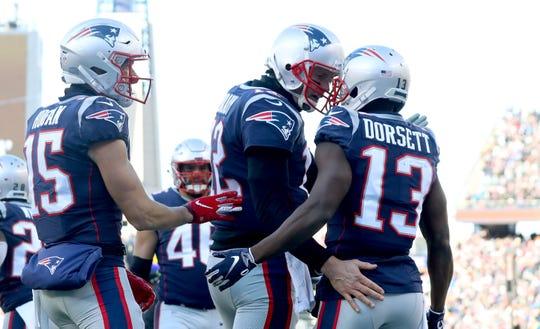 Tom Brady es garantía de touchdowns con los Patriotas.