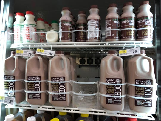 Clover Farms Chocolate Milk and other dairy products are already on the shelves at Dutch-Way Farm Markets.