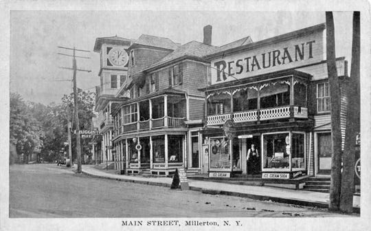 This photo, taken during the early 20th century, shows a restaurant at 36 Main St., Millerton, which is now home to Elyse Harney Real Estate. The North East Historical Society is collaborating with village restaurants in its inaugural Dine Out for History, which kicks off Jan. 27.