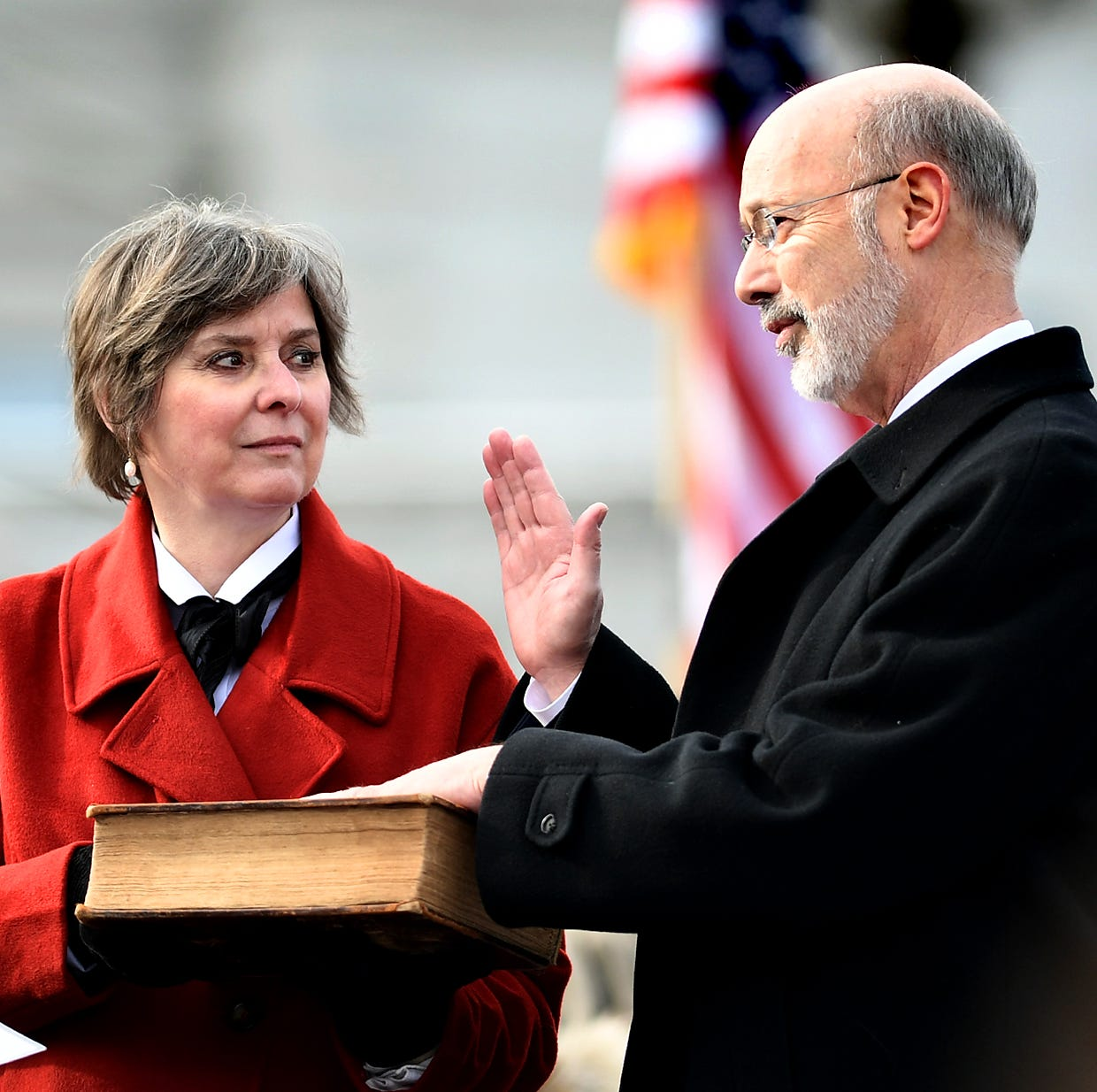 Text of Pennsylvania Gov. Tom Wolf's inaugural address