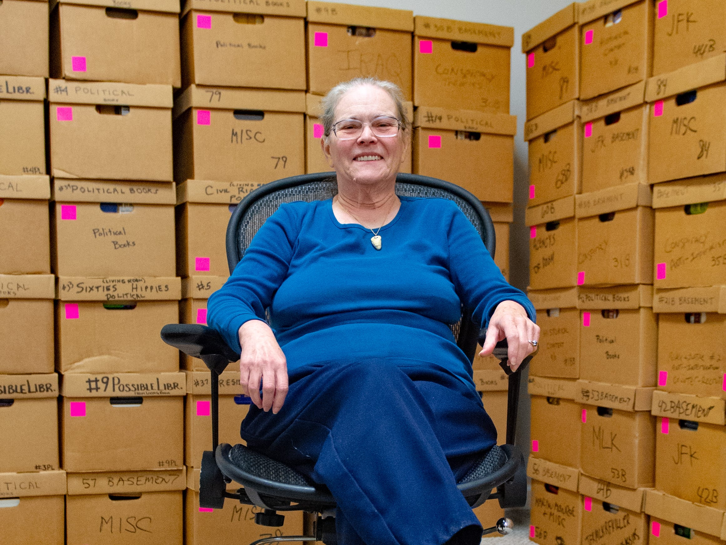 After John Judge's death, Marilyn Tenenoff was given all of her companion's massive collection of books and papers. She decided to move the Hidden History Museum and Research Center from Washington D.C. to York, Pennsylvania.