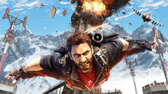 Just Cause 4 for PC, PS4 and Xbox One.