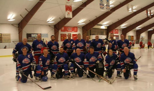 The Rochester Americans, in name and spirit, at Tupper Lake.