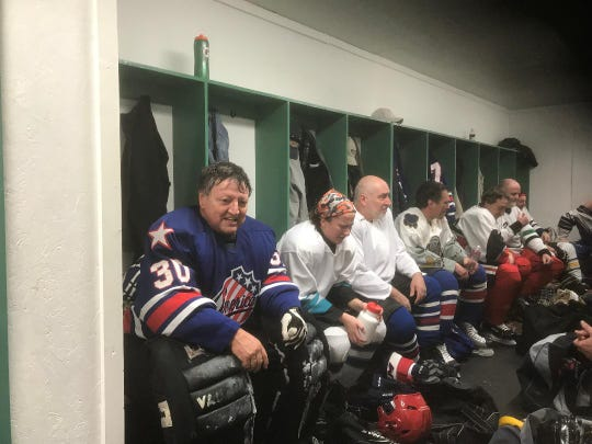 Goalie Mike Orsini, 64, has organized hockey tournaments for decades. Now he even does some of his recruiting off Craigslist. How successful has he been? Let's say the NHL isn't adopting his methods but he sure has fun.