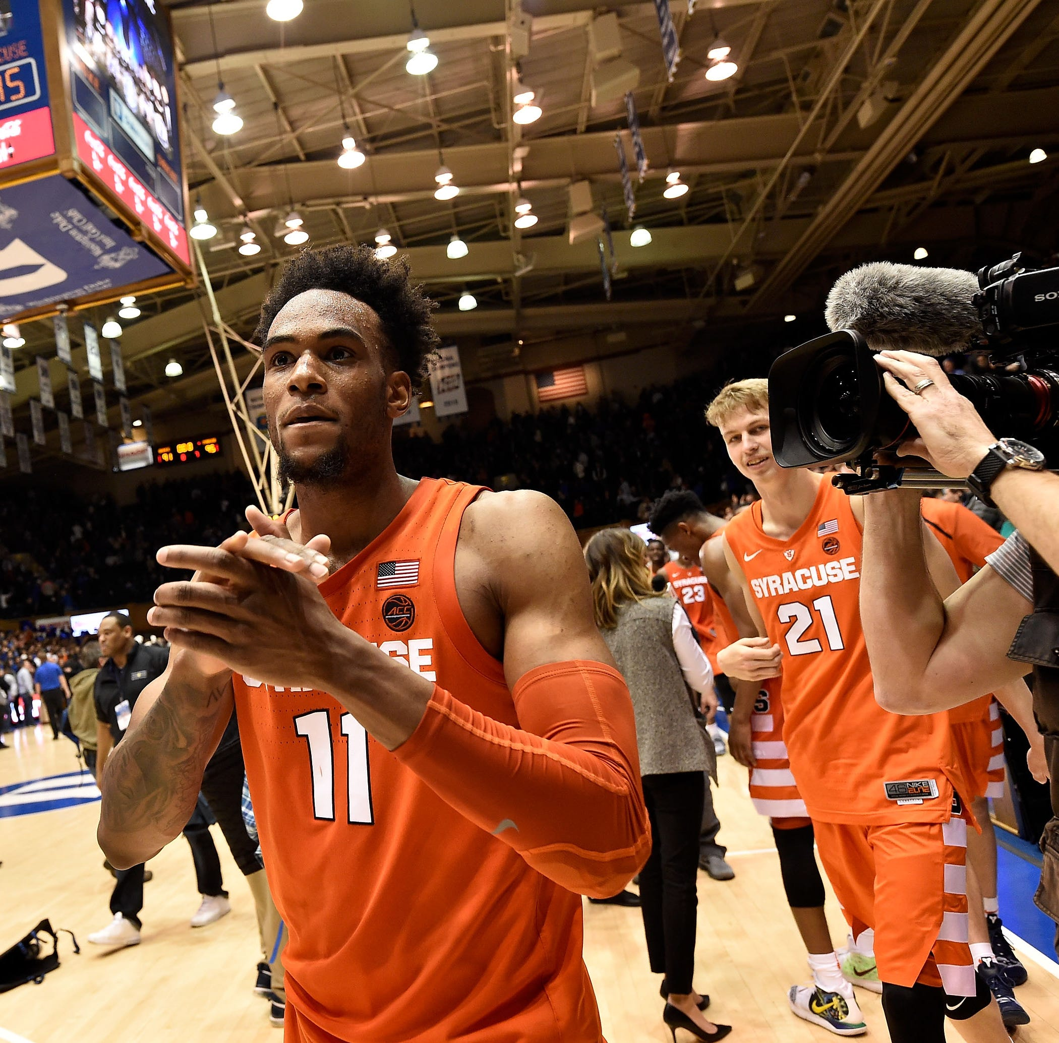Syracuse upsets No. 1 Duke in overtime at Cameron Indoor Stadium