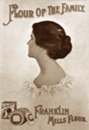Seventeen-year-old Abigail Roberson's image was  used in this advertisement without her permission.