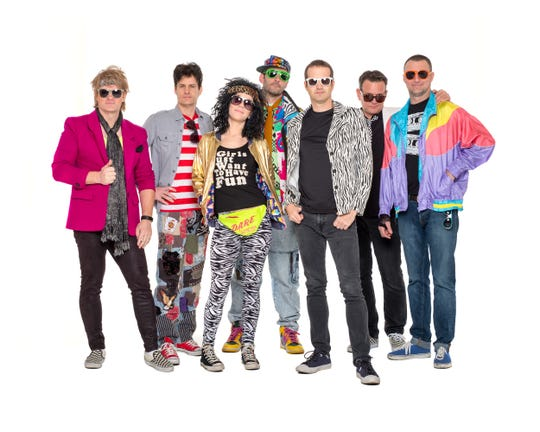 Radical Revolution is a six-member, Portland-based 80s party band.