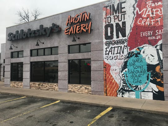 Schlotzsky's, 302 W. Harris Ave., is changing its name and look.