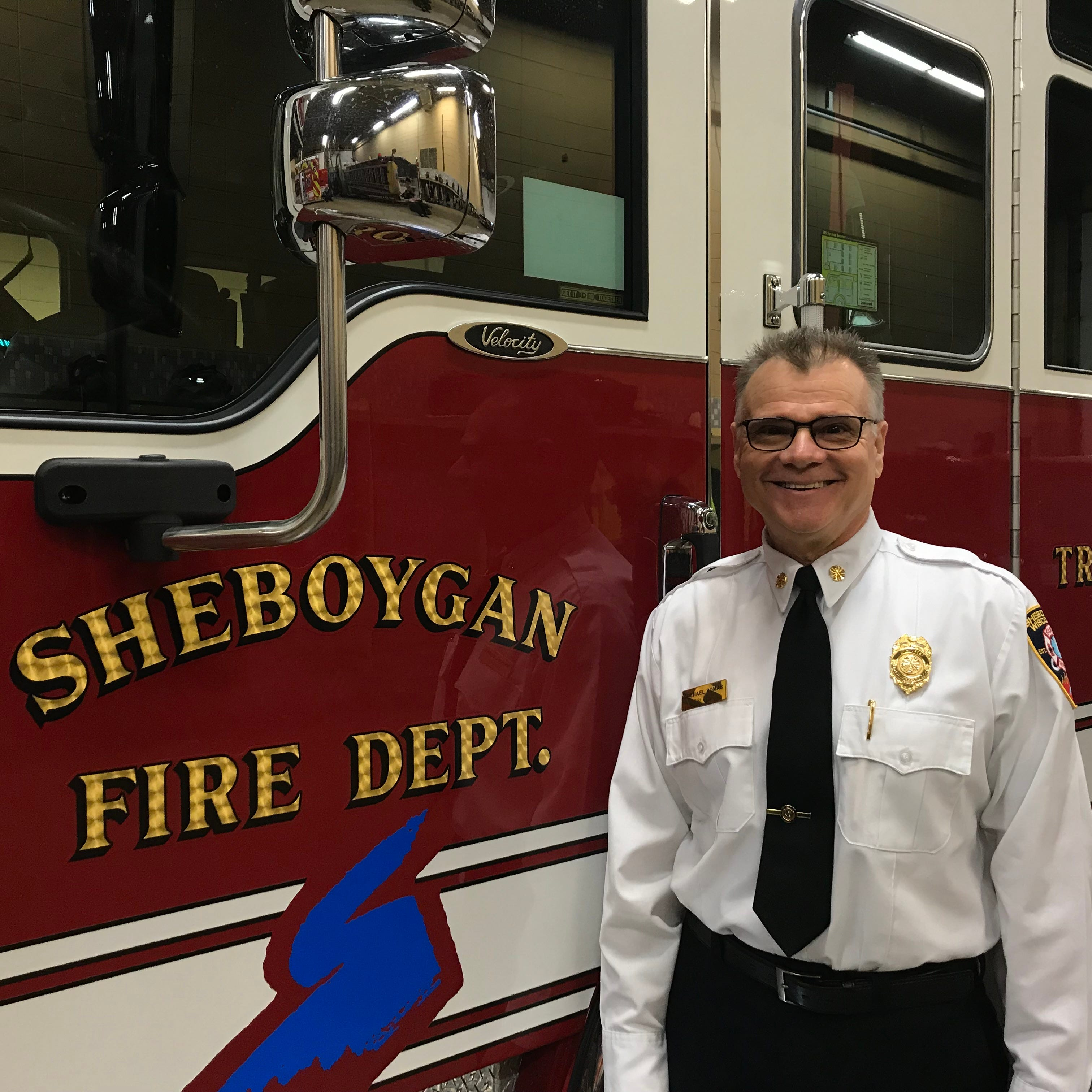 'It's been an absolute unbelievable experience': Sheboygan Fire chief reflects on career
