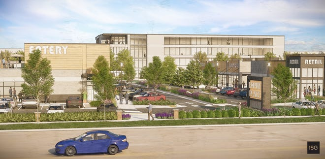 A rendering of Empire Place, set for the old Sioux Falls Ford site on West 41st Street.