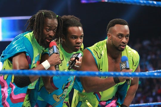 WWE tag team, New Day, featuring Kofi Kingston, Xavier Woods and Big E, are one of the most popular acts in wrestling.
