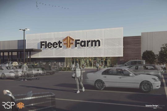 No. 8: $15.9 Fleet Farm department store, gas station and lumber yard