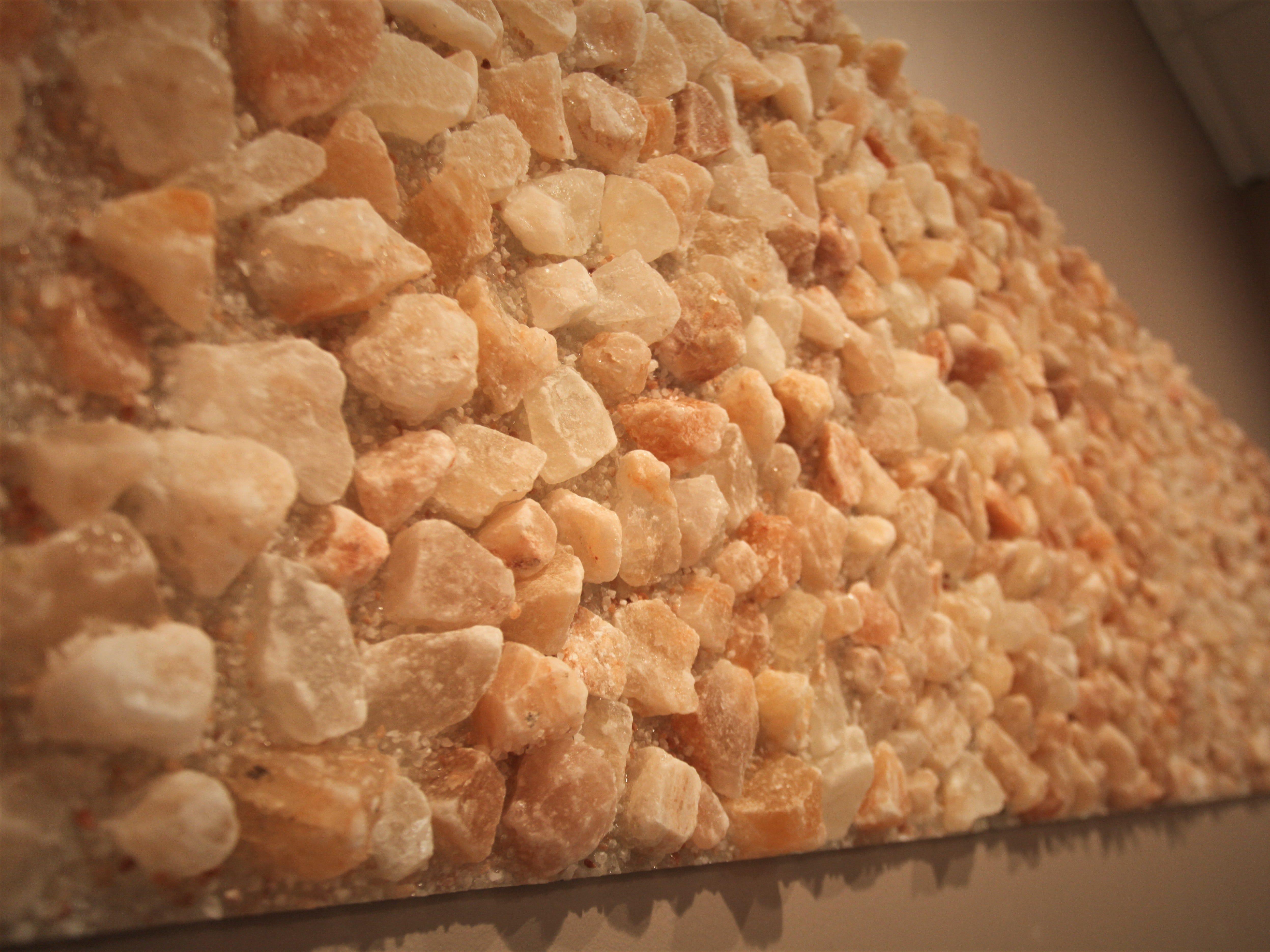 Salt decor at Breathe Salt Vault